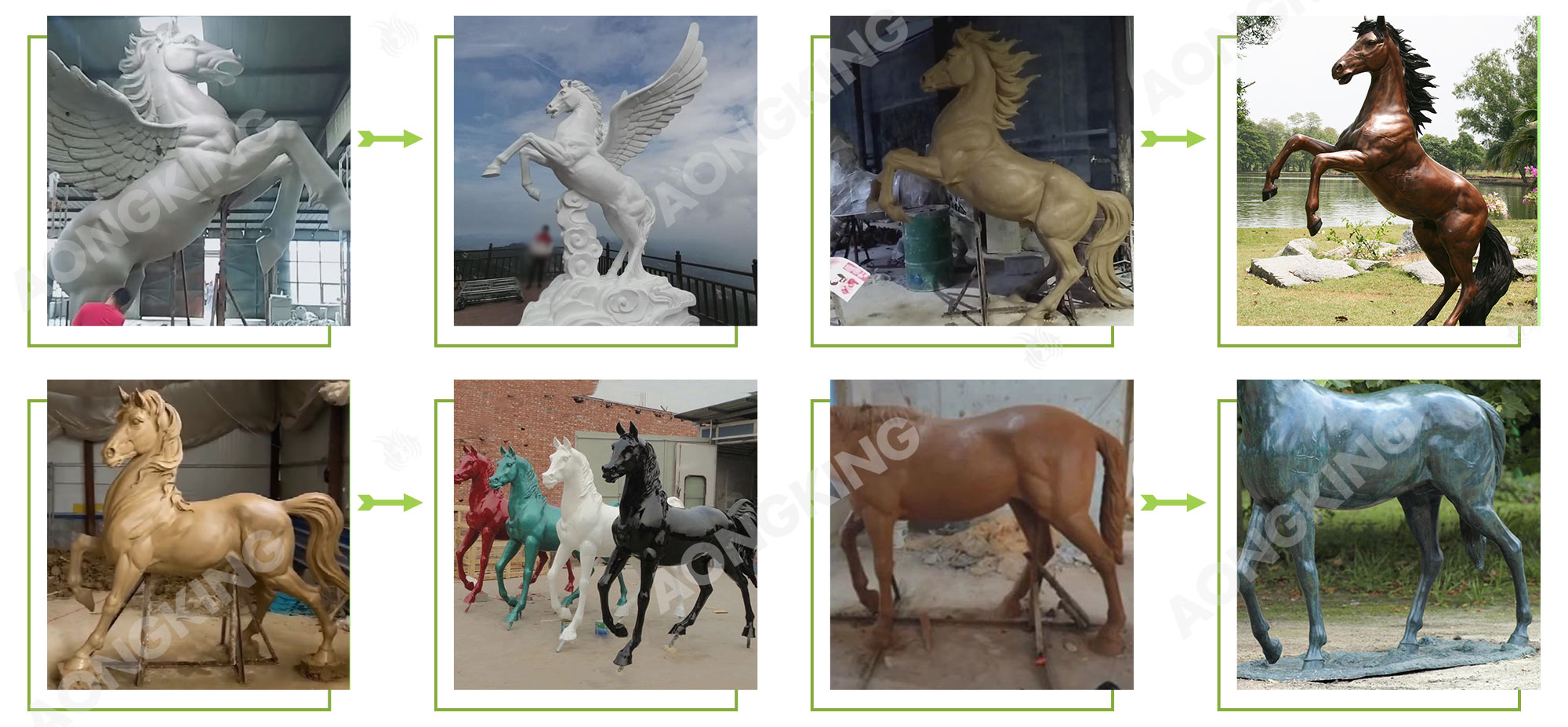 horse sculpture projects