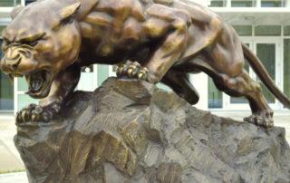 leopard sculpture large