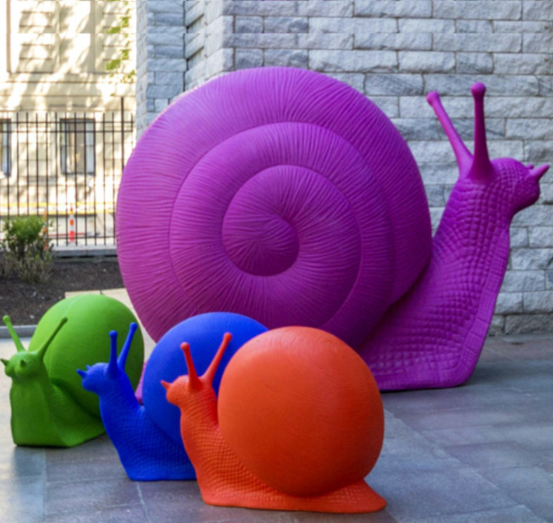 snail sculpture for sale