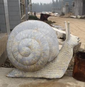 snail stainless steel sculpture