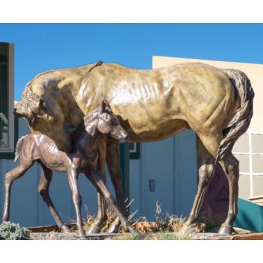 statues horse