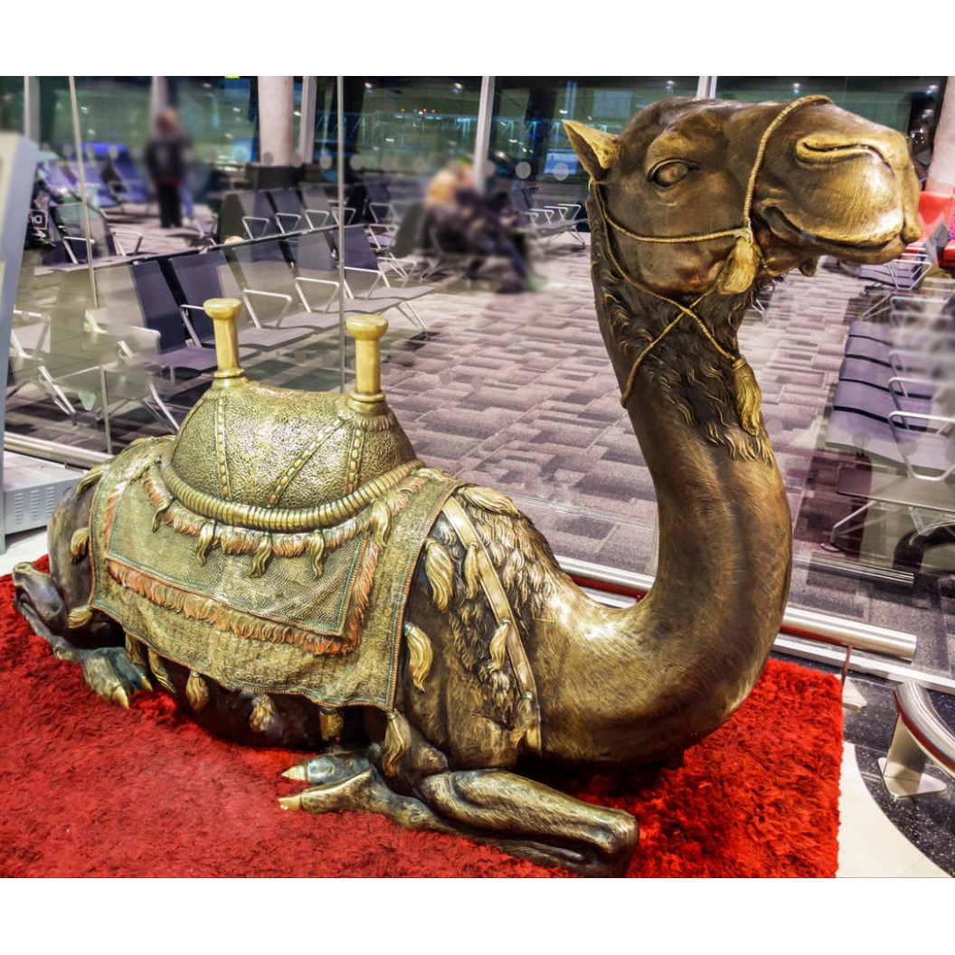 camel sculpture