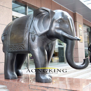 large elephant statue outdoor