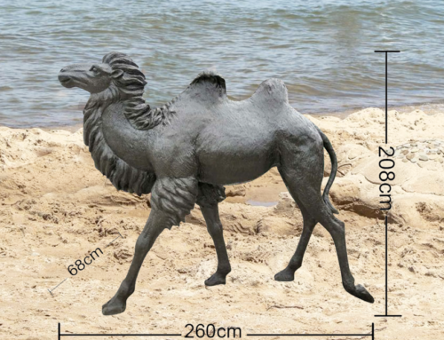 Large Animal Bronze desert animals camel statue