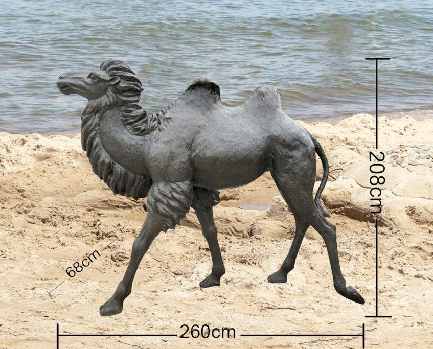 Large Animal Bronze desert animals camel statue