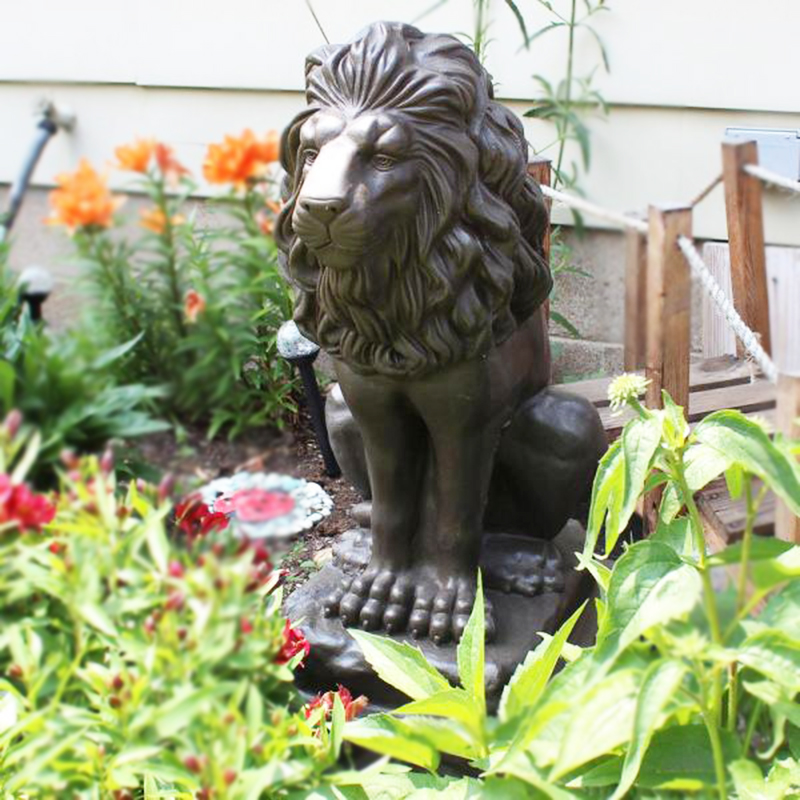 Popular Sale Garden Lion statues for outdoor Decoration