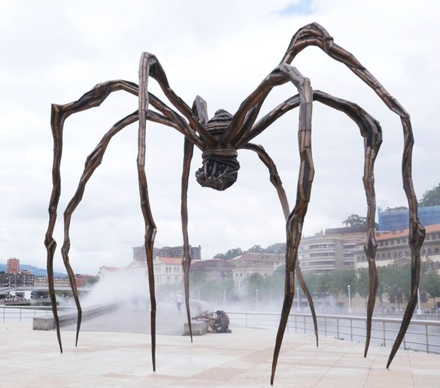 Large Size Bronze Arachnid sculpture for street Public Ornament