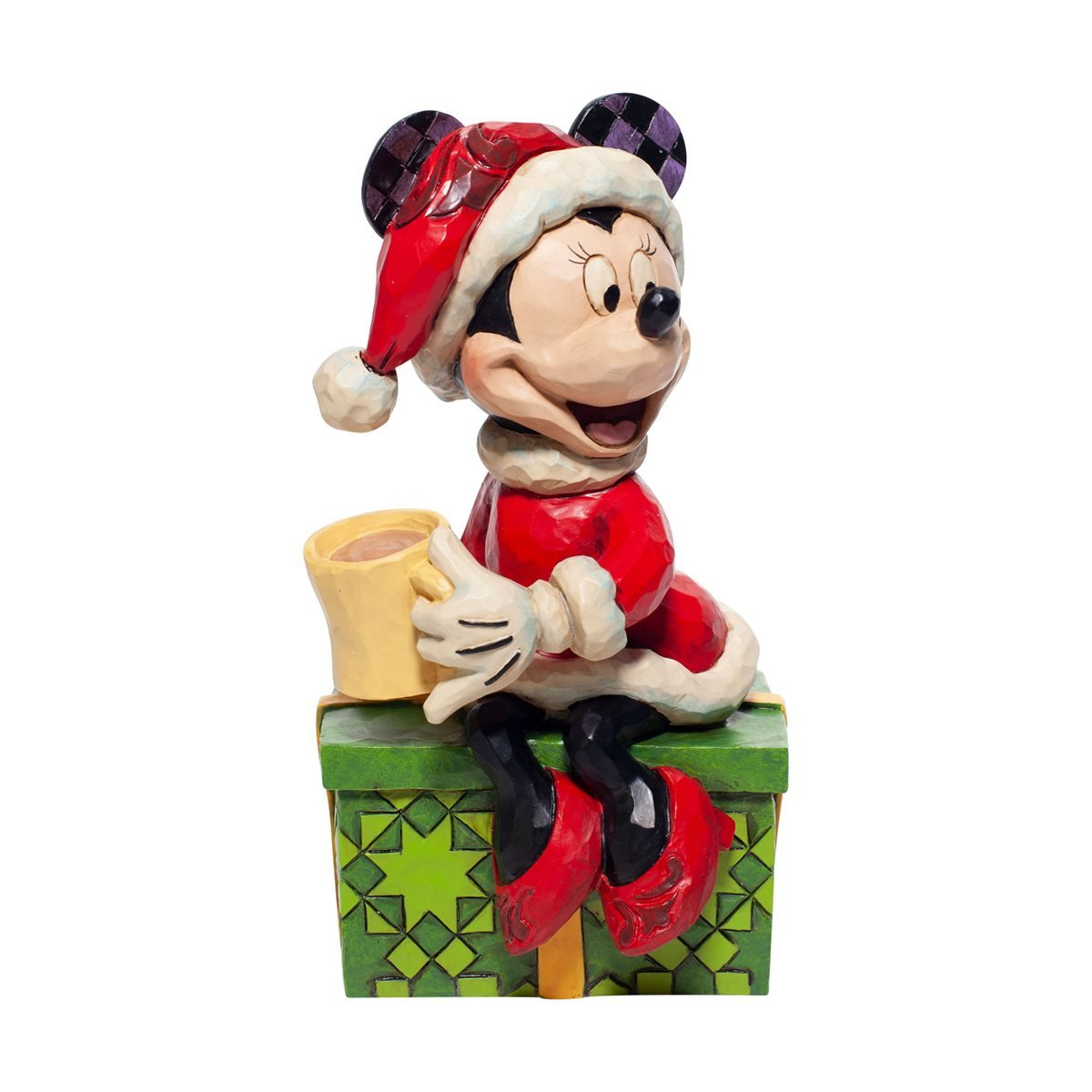 Christmas Ornament Mickey Mouse Cartoon Resin Statue