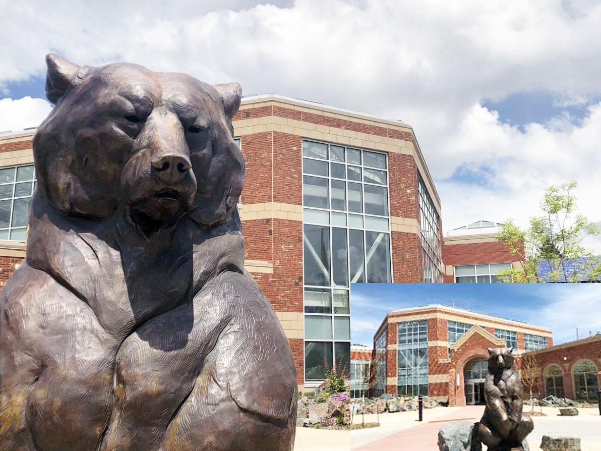 Large sun bear statues for sale