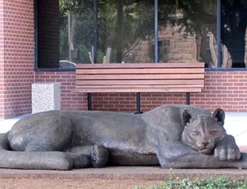 Sleeping tiger garden statue metal casting sculpture hot sale