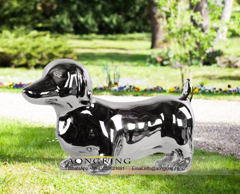 Stainless steel animal of dog