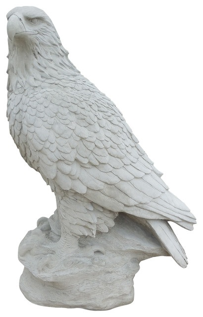 Carving Solid Famous Nature White Marble Bird Sculpture