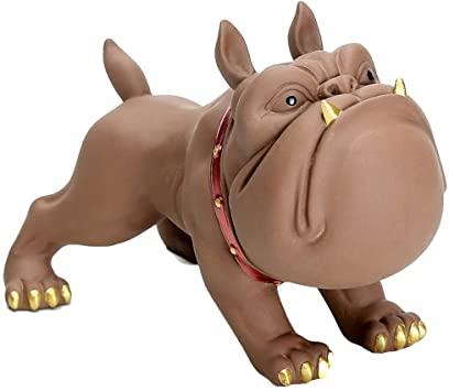 Cartoon Animal Hot Sale Fiberglass French Bulldog Resin Sculpture