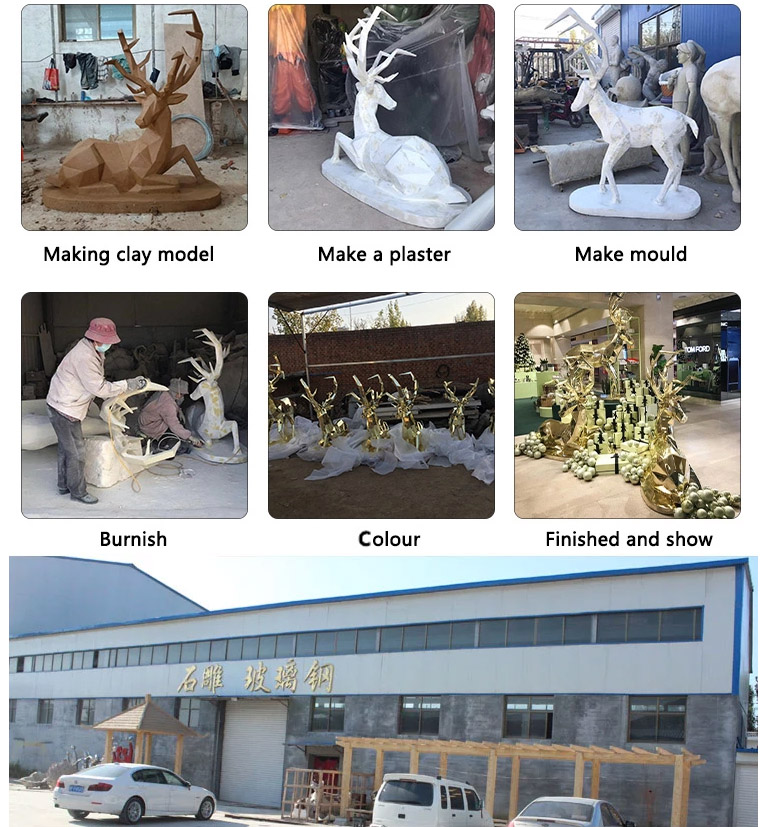 fiberglass products of sculpture