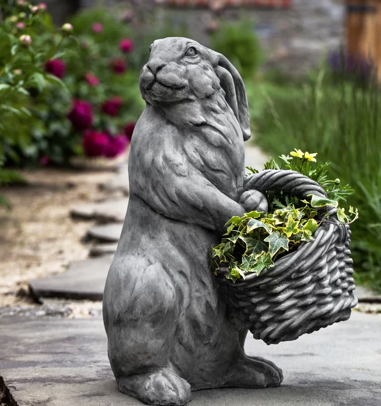 hare sculpture garden