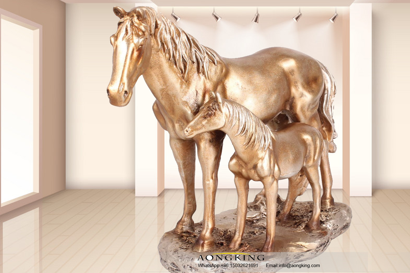 home decor horse statue