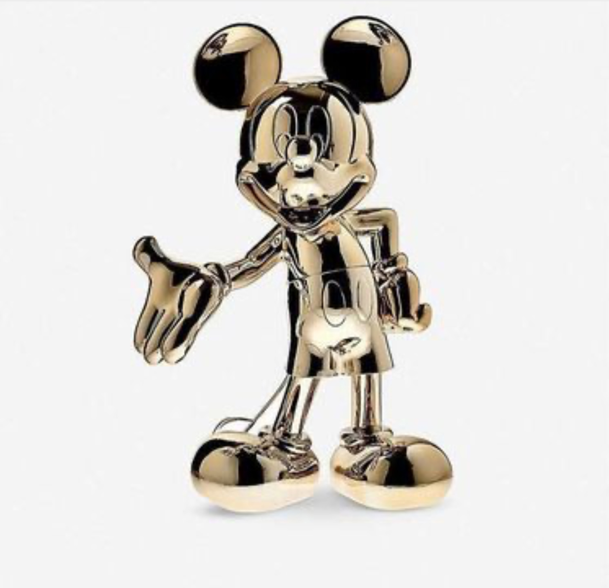 Cute Cartoon Stainless Steel Mickey Mouse sculpture