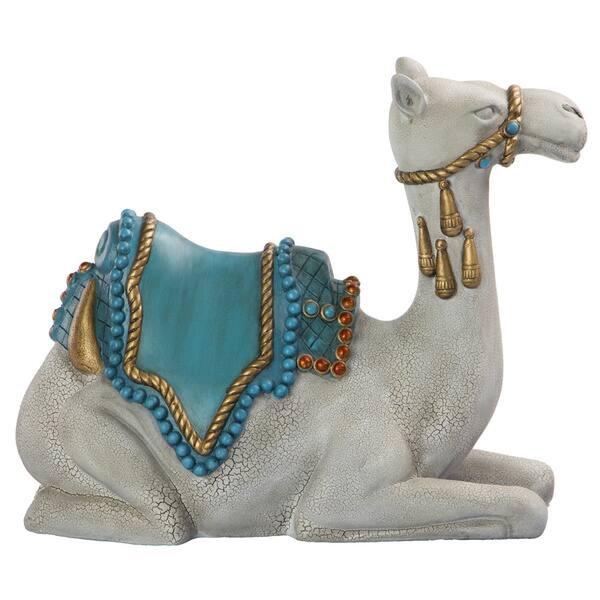 Kneeling Life Size Resin Camel Sculpture For Sale