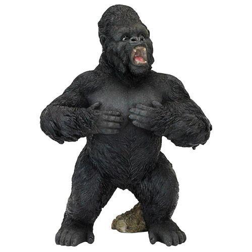Large Public Decoration Black King Kong Resin Sculpture