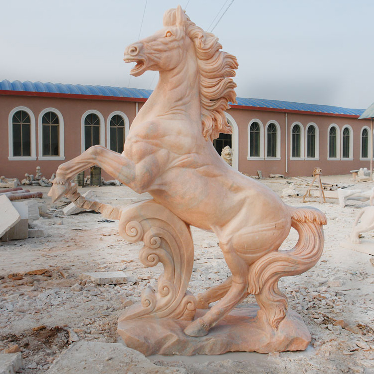Popular Design Decor Stone Statues Horse Statue For Sale