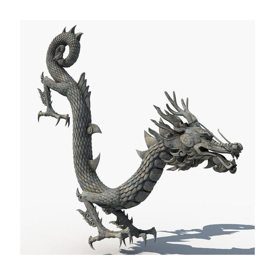 High Quality Customized Bronze Animal Sculpture of Flying Dragon