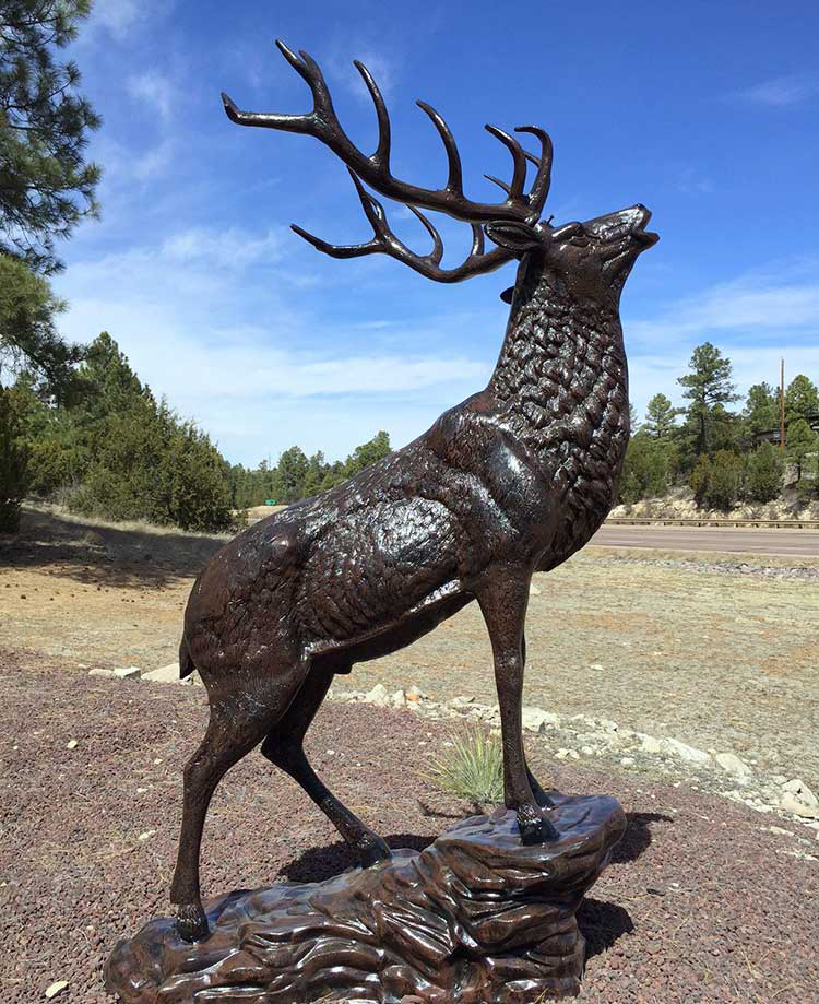Bronze Garden Outdoor Decoration Animal Statues