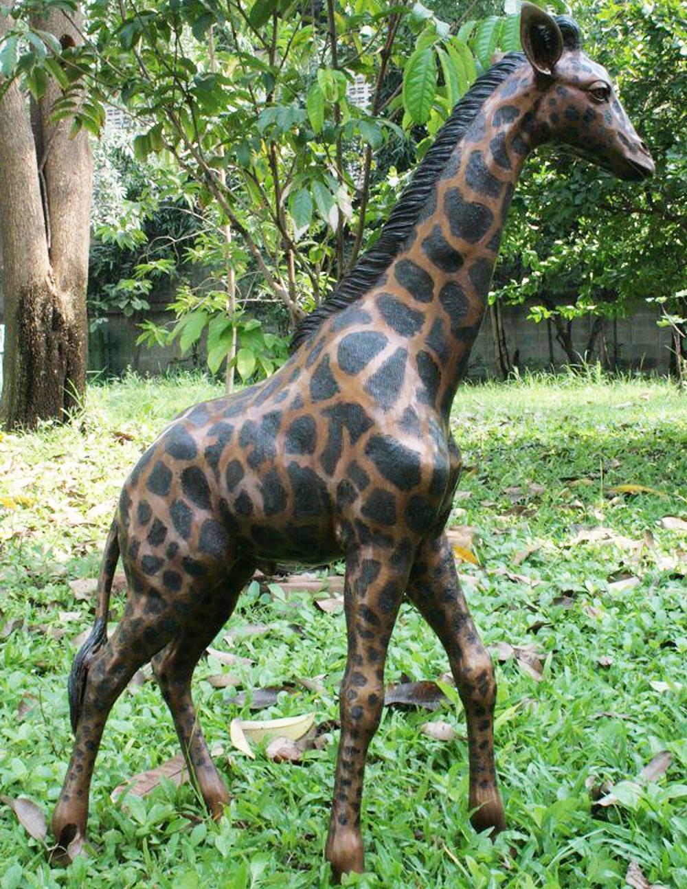High Garden Decoration Large Life Size Giraffe Sculpture