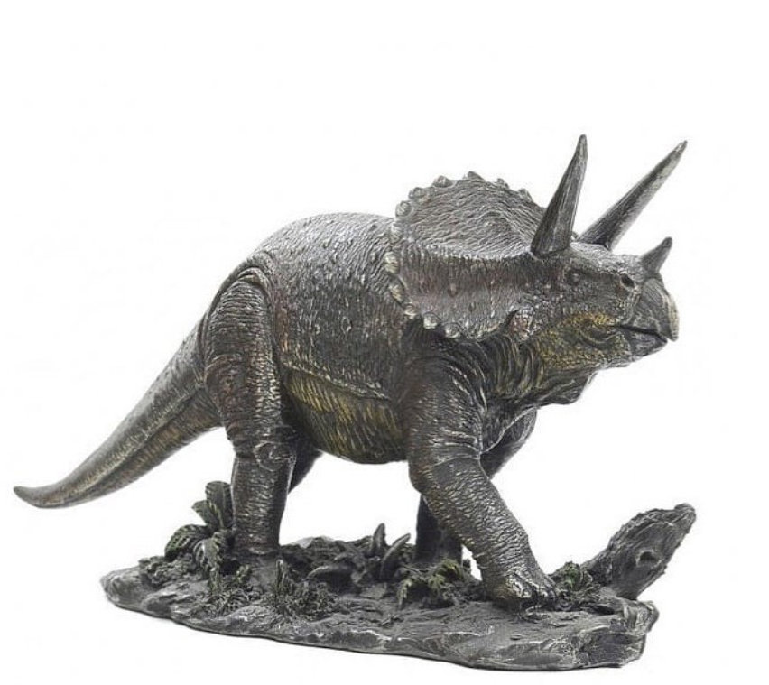 triceratops dinosaurs Statue Sculpture