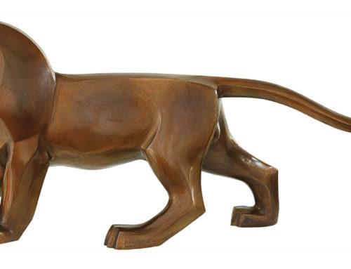Famous Work of Art Indoor Decor Modern Animal Design of Mountain Cats