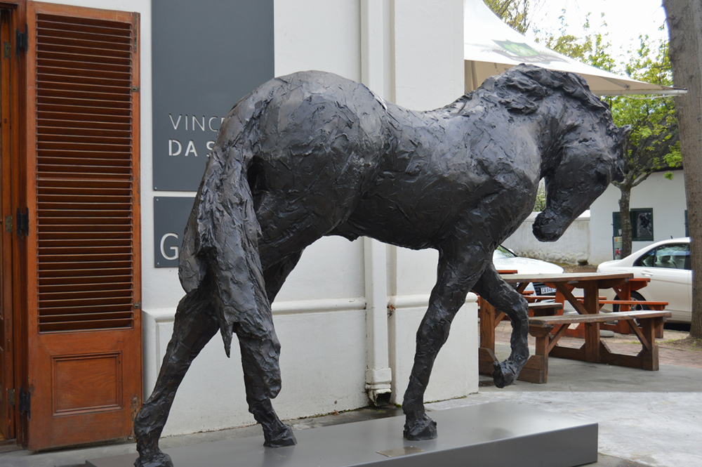Large Life Size Outdoor Garden Bronze Horse Sculpture