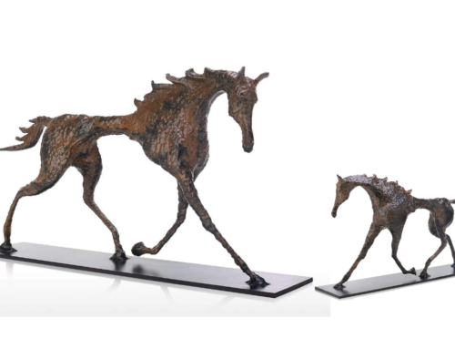 Alberto Giacometti abstract horse sculpture artwork for customized