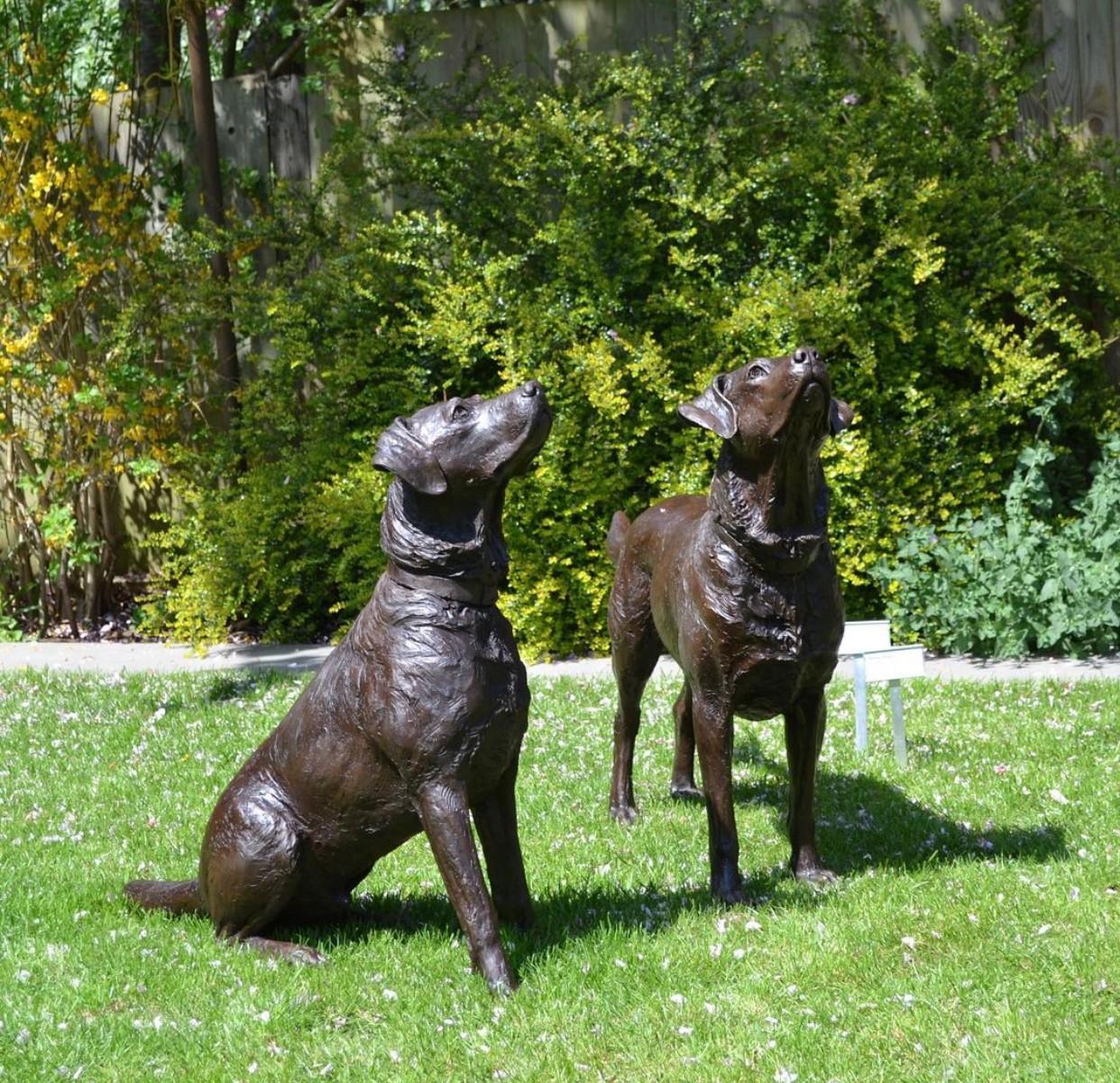 Brass dog statue dog sculptures for sale
