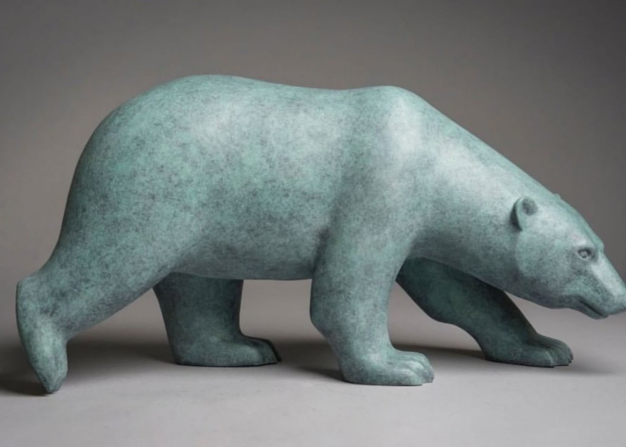 Custom statues of pets bear statue