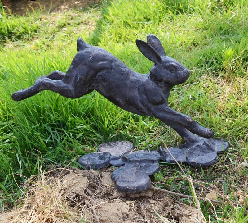 Vintage rabbit statue