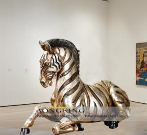 life size zebra statue