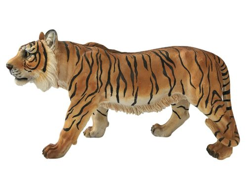 Fierce Large Life Size Siberian tiger Sculpture