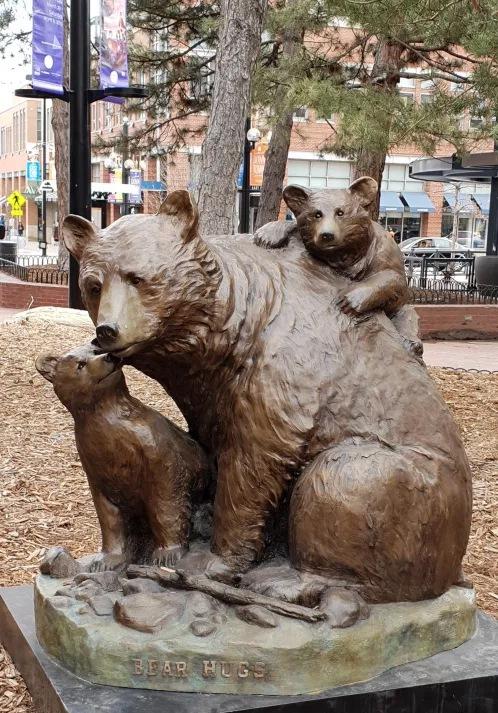 Sweet Lovely Bear Sculpture