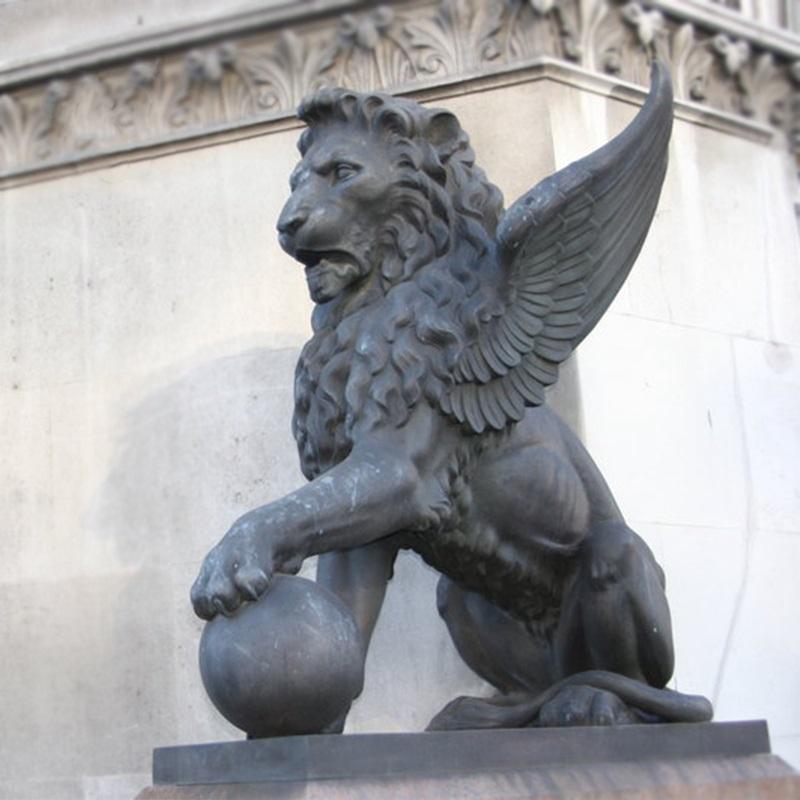 Stone Winged Lion