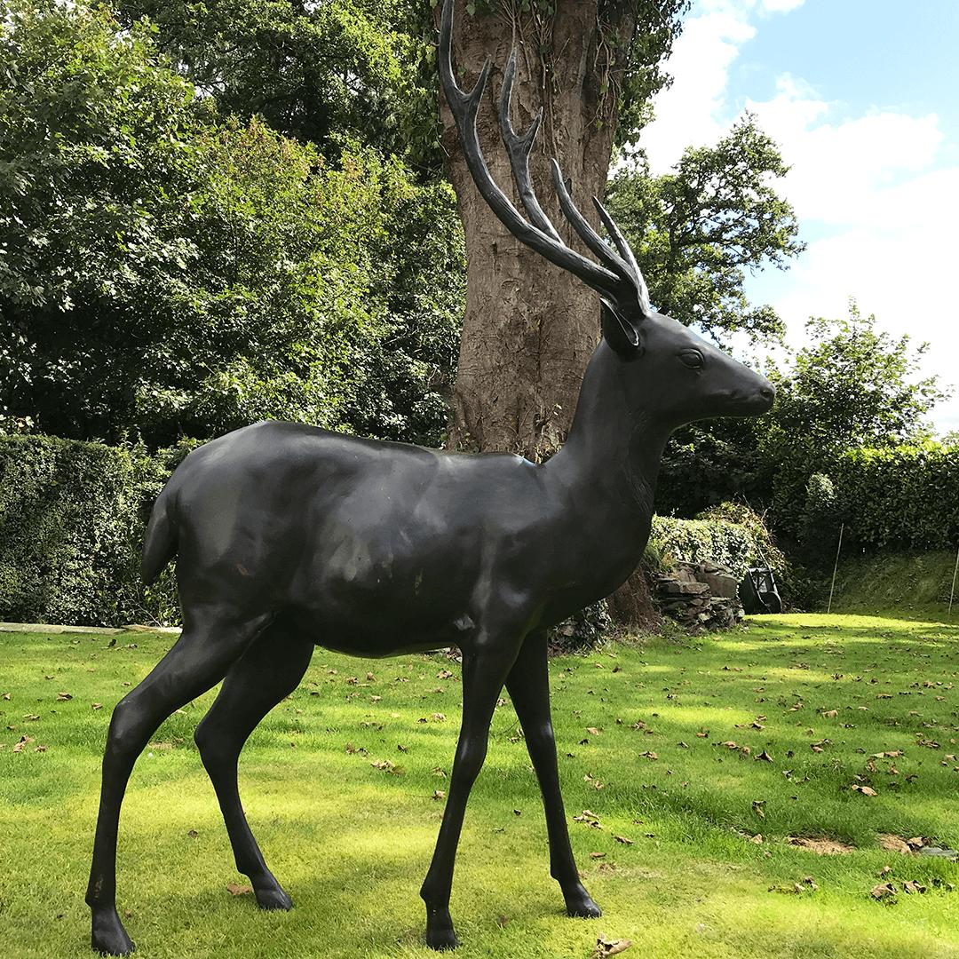 deer garden statue product