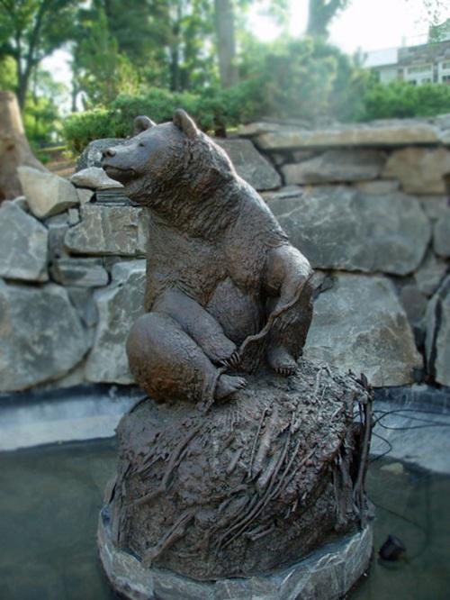 High Quality Bronze Bear