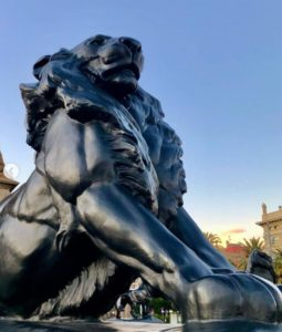 Large Outdoor Lion Statues