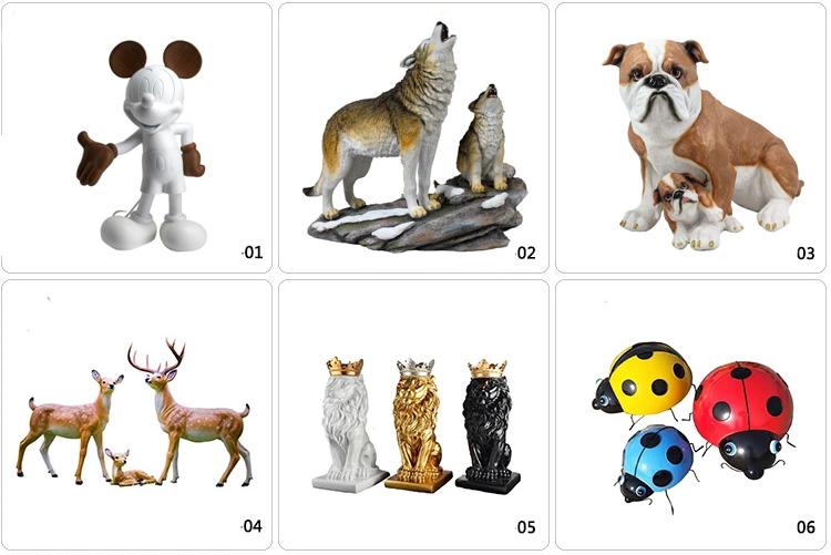 Handmade custom reasonable price animal sculpture for decoration