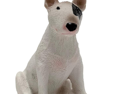 Modern style wholesale handmade sandicast bull terrier sculpture