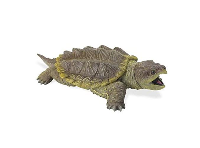 Art shop top selling custom snapping turtle sculpture for aquarium