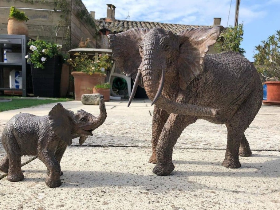 elephant statues for yard