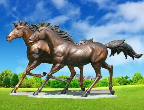 Oudoor Bronze Art of Horse Sculpture