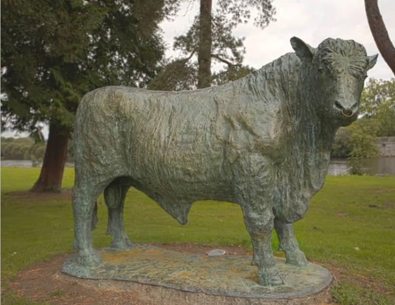bull sculpture for sale