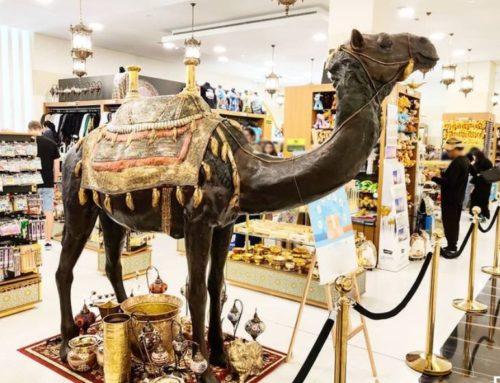 Large Indoor Decor Bronze Camel Ornaments for Sale