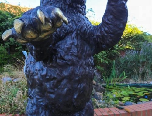 Standing Bronze Large Bear Statues for Sale
