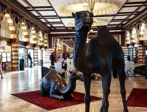 Inner Decor Bronze Camel Statues for Sale